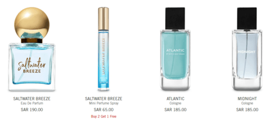 Bath and Body Fragrance