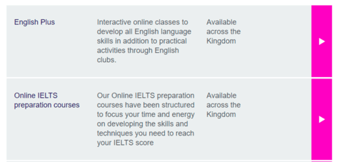 British Council Course