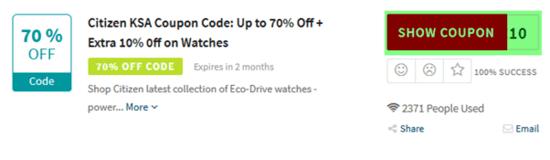 Citizen Watch Code