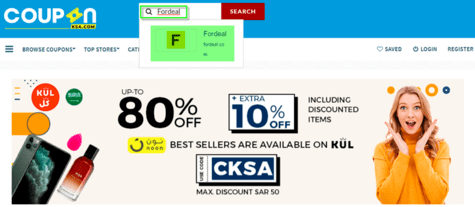 Fordeal CouponKSA.com