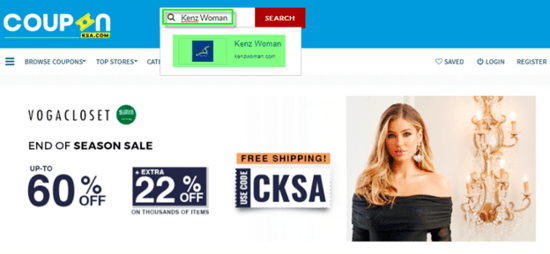 Kenz Women CouponKSA.com