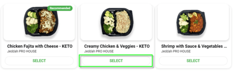 Daily Mealz Items
