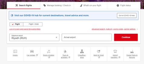 Emirates Booking