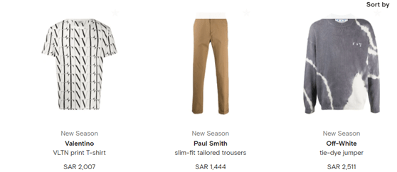 Farfetch Clothing