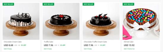 Ferns N Petals Cakes