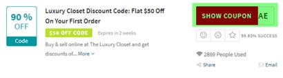 Luxury Closet Code