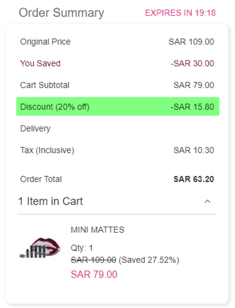 Mikyajy Discount
