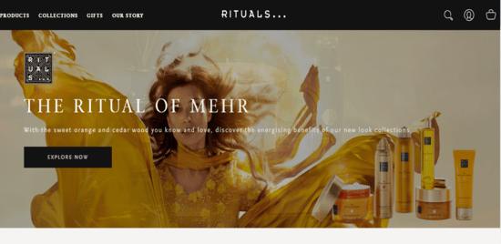 Visit Rituals' web store Now