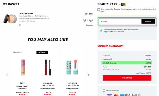 Sephora Discount