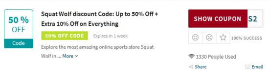 Squat Wolf Code