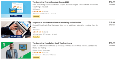 Udemy Finance