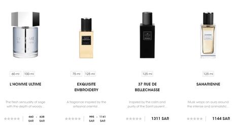 YSL Beauty Fragrances